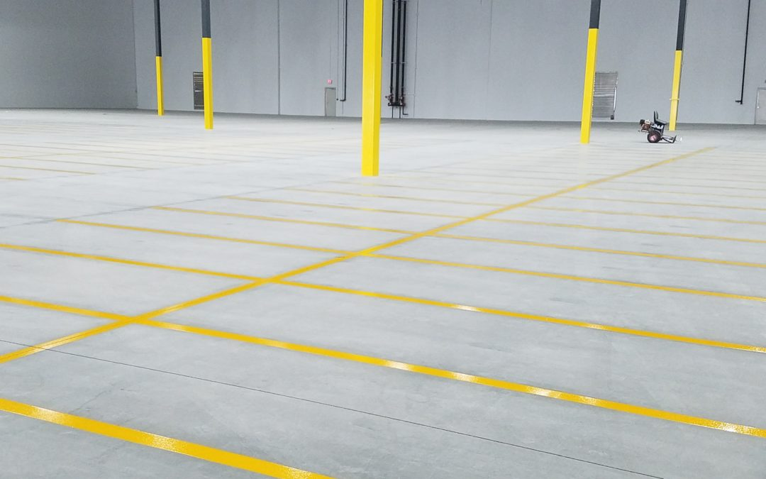 Hotline Warehouse Striping